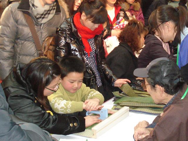 上海 久光百貨店・京都フェアにて