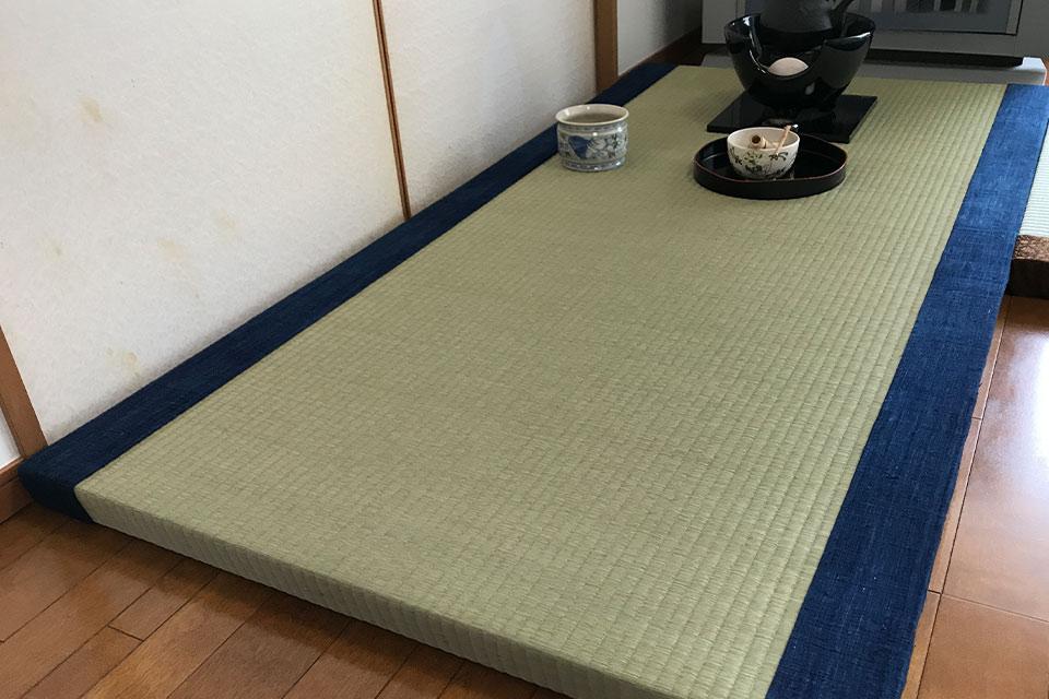 バリ藍染広縁畳 置き畳